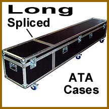 long spliced custom ATA cases