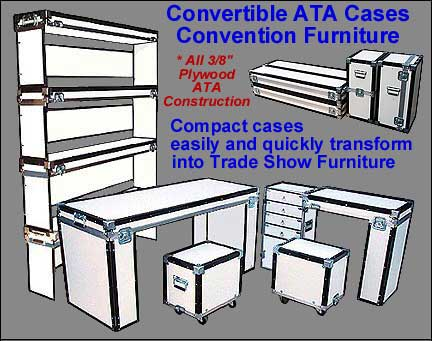 trade show cases and exhibit cases
