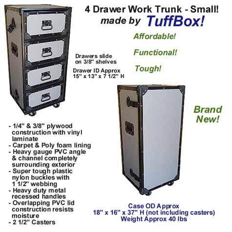 TuffBox Drawer Cases & Work Trunks